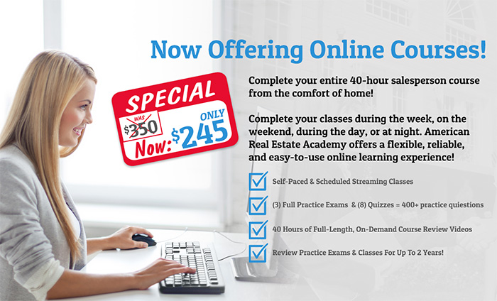 online real estate class